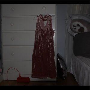 velvet forever 21 dress